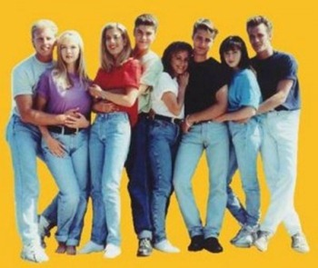 What clothes were worn in the 1980s?